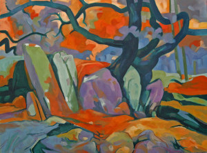 Tree and Rocks (Fantasia on a Theme)