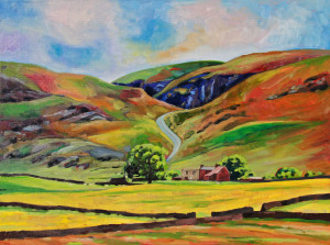 Upper Teesdale Landscape